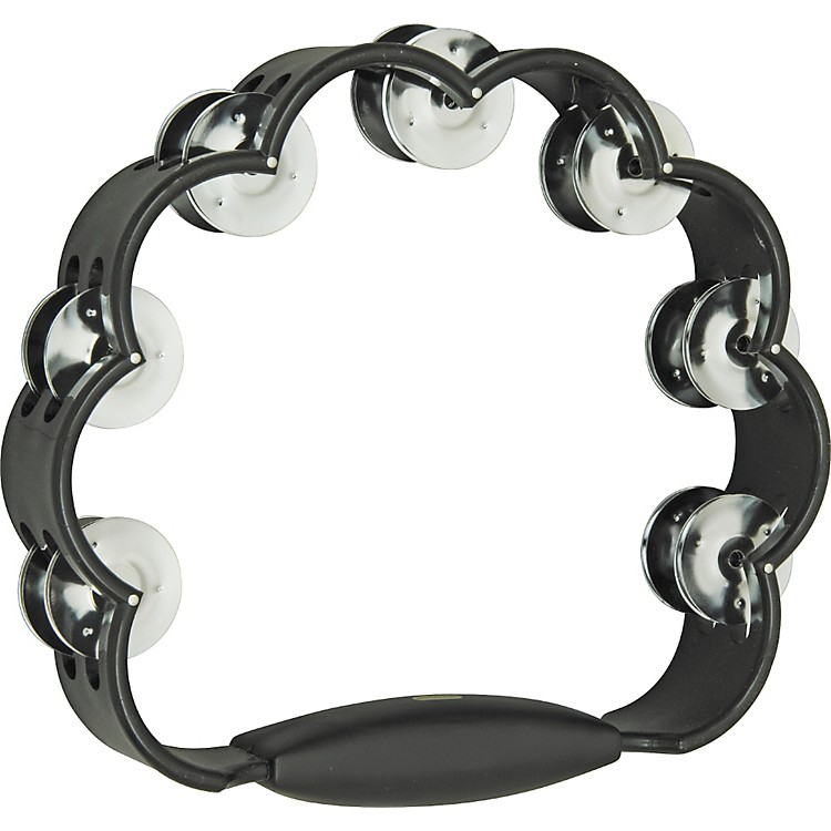 Rhythm Band Peacock Tambourine Black
