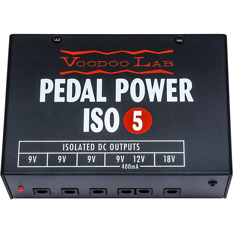 Voodoo LabPedal Power ISO-5 Power Supply
