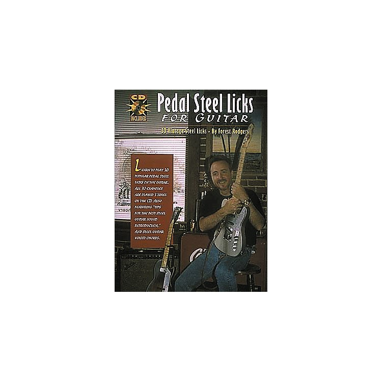 Centerstream Publishing Pedal Steel Licks for Guitar (Book/CD)