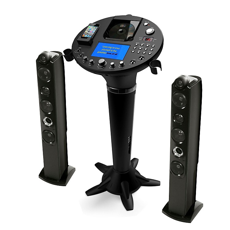 The Singing Machine Pedestal Karaoke System