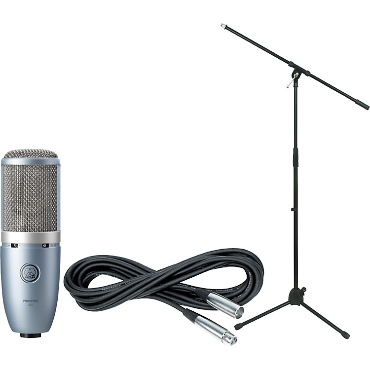 AKGPerception 220 Condenser Mic with Cable and Stand