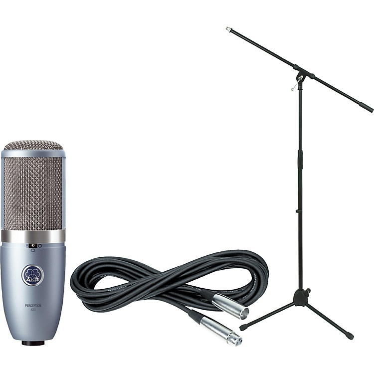AKGPerception 420 Condenser Mic with Cable and Stand