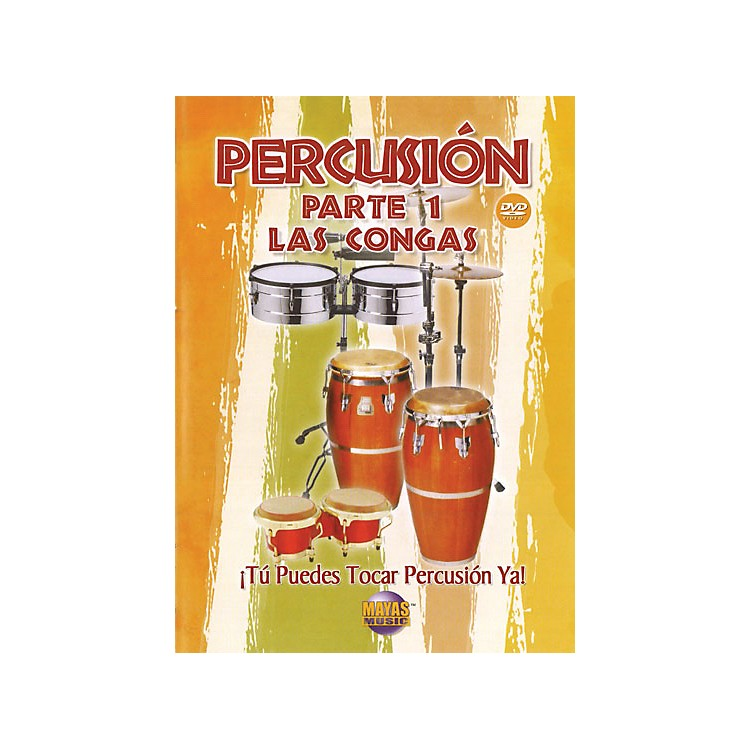 Mel BayPercusion Parte 1 (DVD), Las Congas - Spanish Only / Solo en espanol