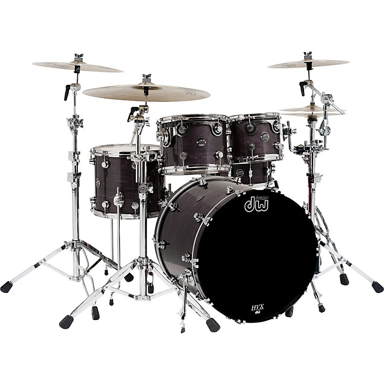 DWPerformance Series 5-Piece Shell PackEbony Stain Lacquer18X22