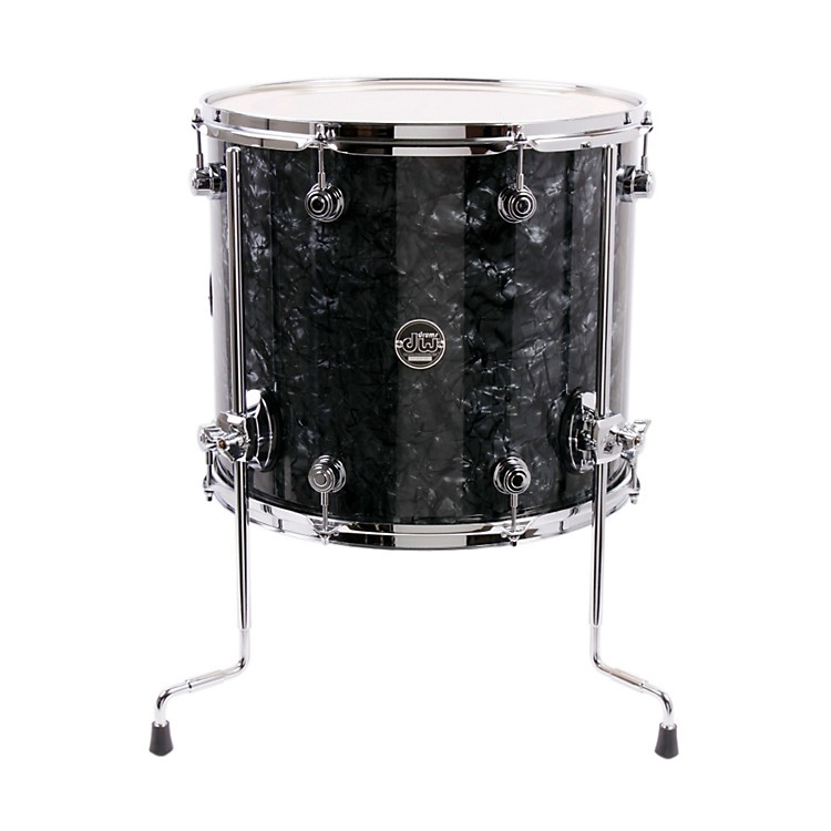 DW Performance Series Floor Tom Black Diamond 16 x 14 in.