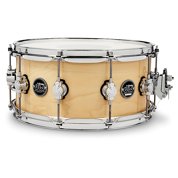 DWPerformance Series Snare Drum14 x 6.5 in.Natural Lacquer
