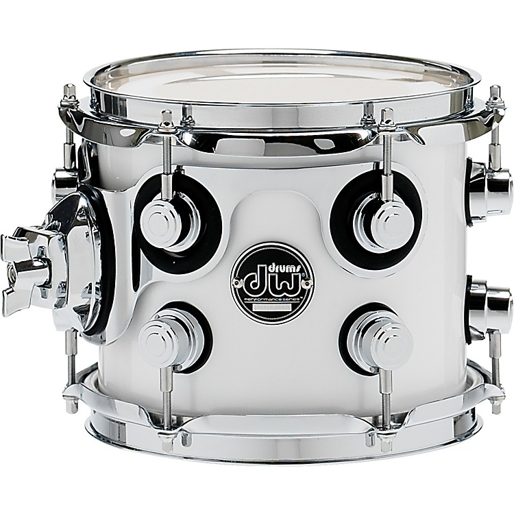 DW Performance Series Tom 7 x 8 White Ice