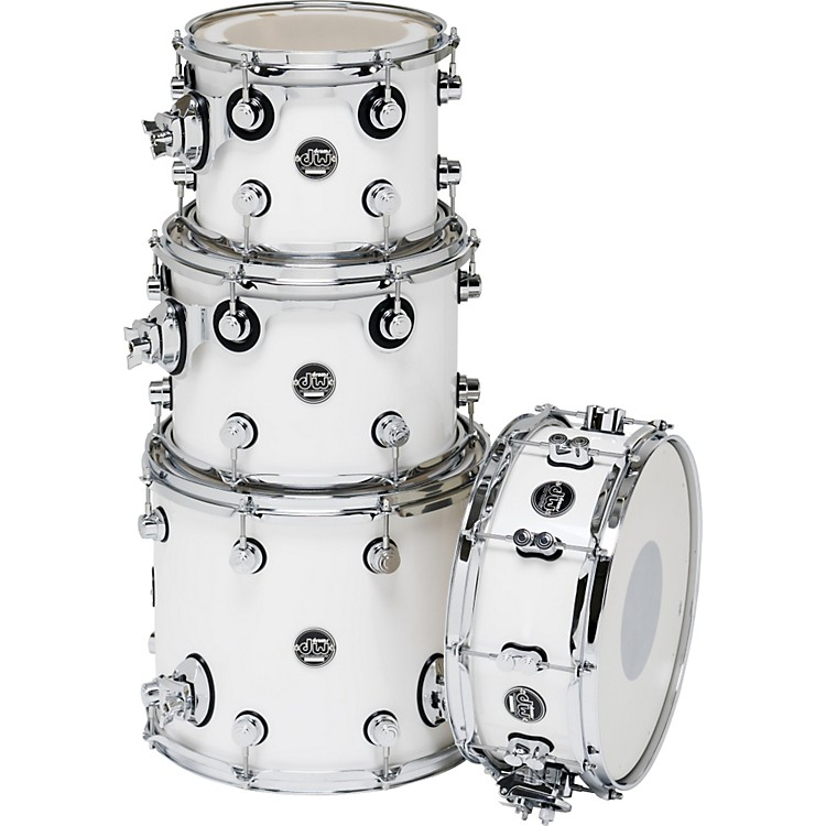 DW Performance Series TomPack 4 White Ice