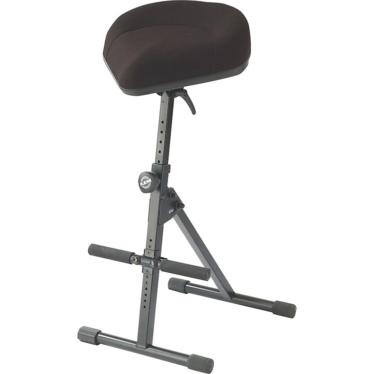K&MPerformance Stool with Pneumatic SpringBlack