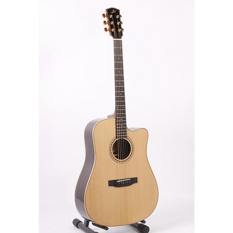 Bedell Performance TBCE-28-G Dreadnought Cutaway Acoustic-Electric Guitar Gloss Natural 886830711589