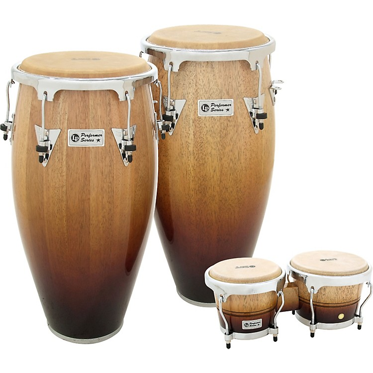 LP Performer 2-Piece Conga Set with Free Bongos