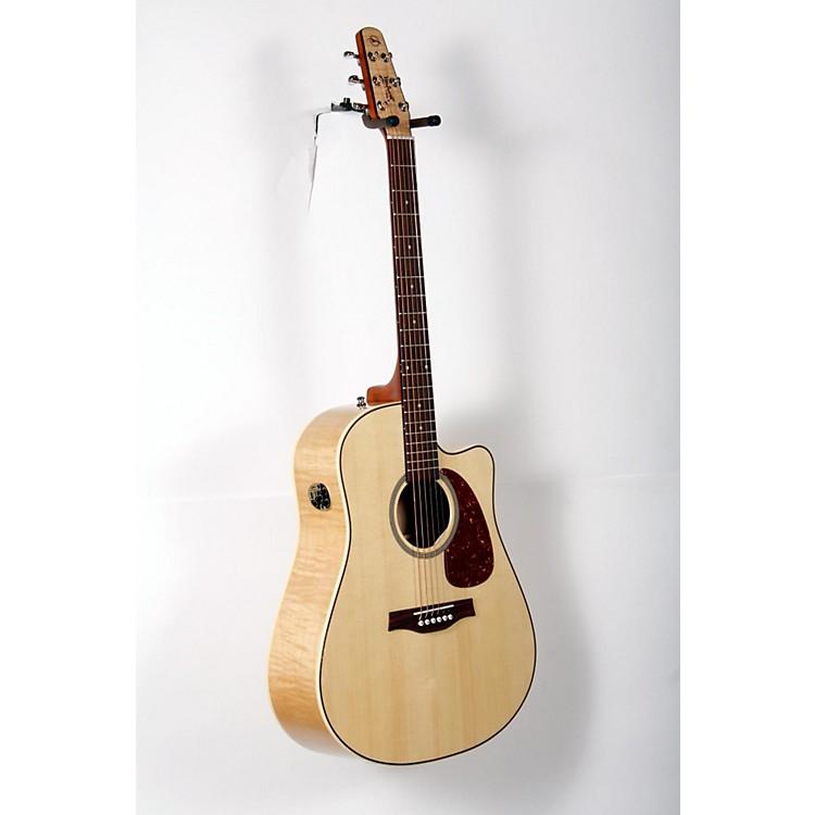 SeagullPerformer Cutaway Flame Maple High Gloss QI Acoustic-Electric GuitarNatural888365899985