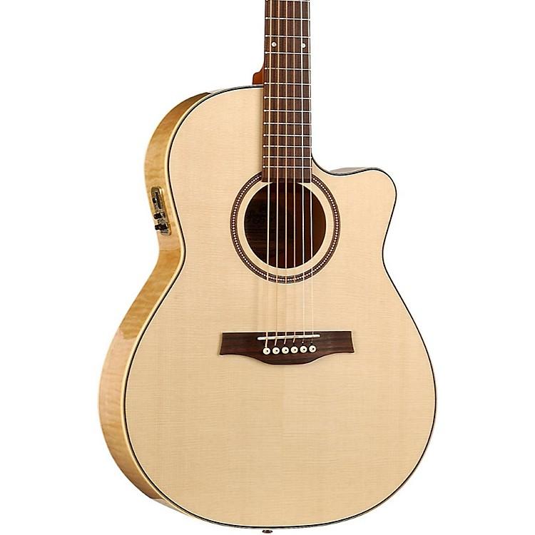 SeagullPerformer Cutaway Folk QI Acoustic-Electric GuitarNatural