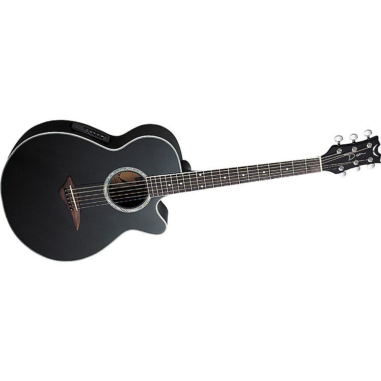 Dean Performer E Acoustic-Electric Guitar Black