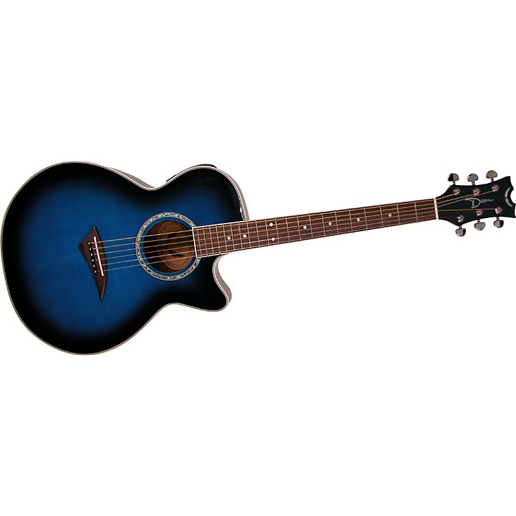 Dean Performer E Acoustic-Electric Guitar Blue Burst