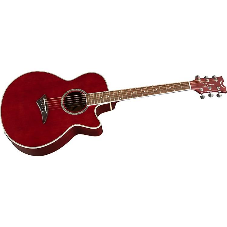 DeanPerformer E Acoustic-Electric GuitarTransparent Purple