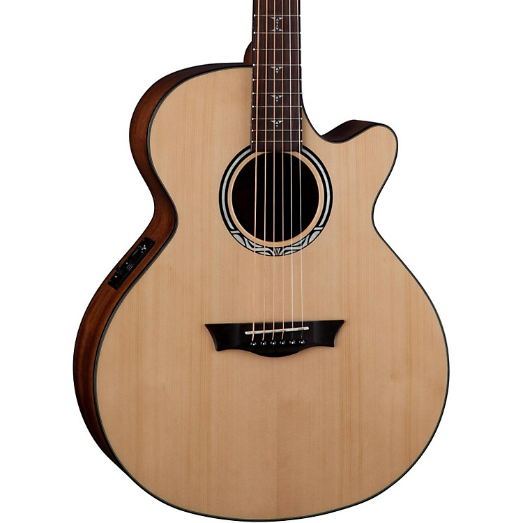 Dean Performer Plus Acoustic-Electric Guitar Natural