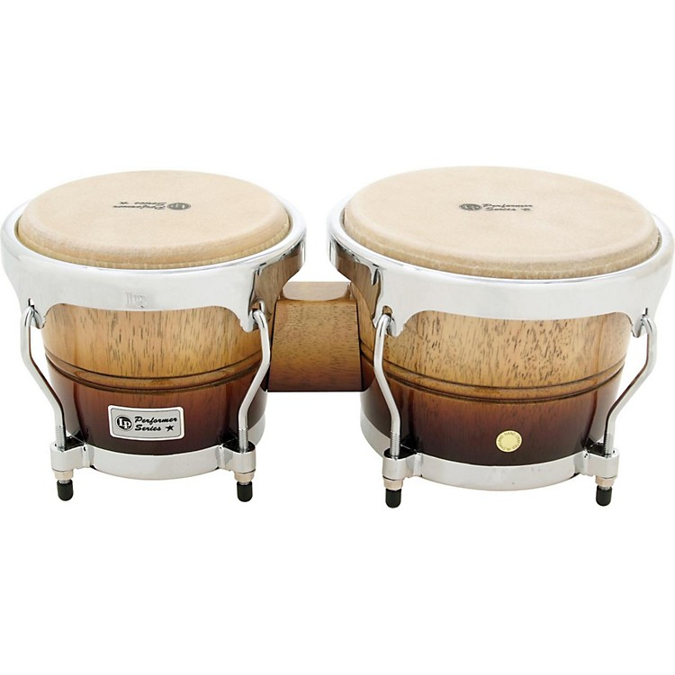 LPPerformer Series Bongos with Chrome HardwareVintage Fade