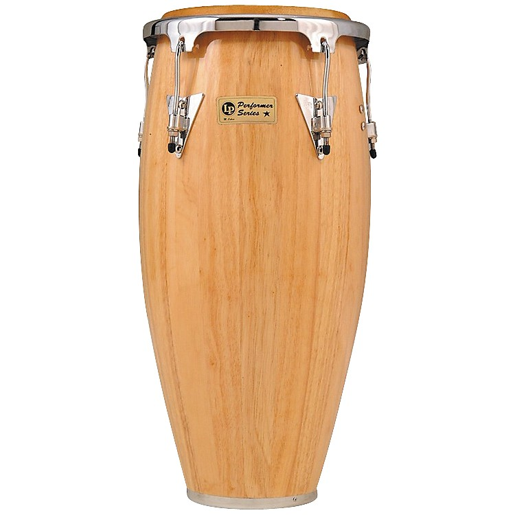 LP Performer Series Conga 12.5 Inch Tumba Natural Chrome Hardware