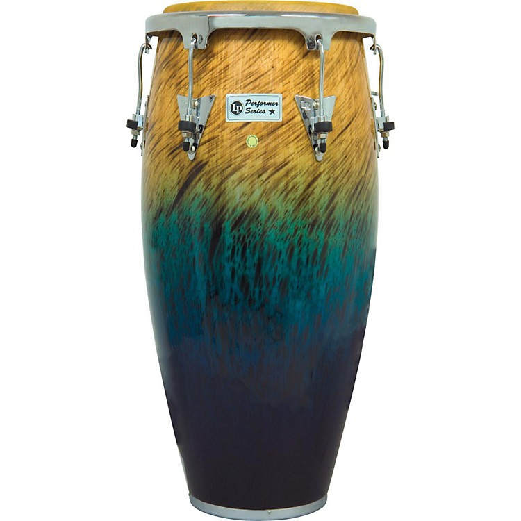 LPPerformer Series Conga with Chrome Hardware11 in. QuintoBlue Fade
