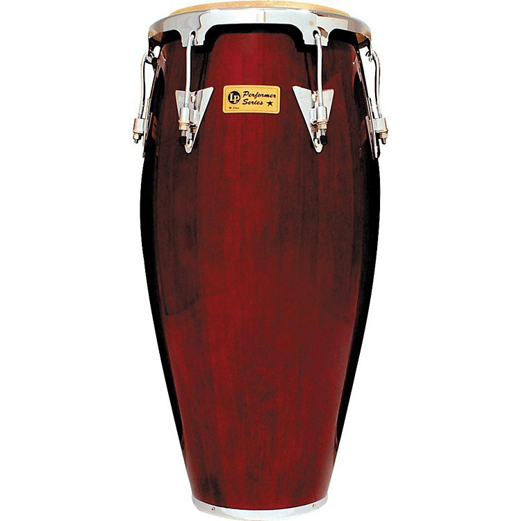 LPPerformer Series Conga with Chrome Hardware11 in. QuintoDark Wood