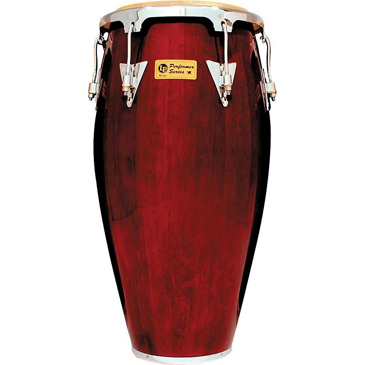 LPPerformer Series Conga with Chrome Hardware11.75 in.Dark Wood