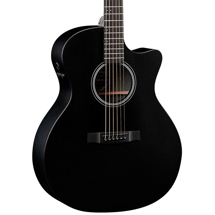 Martin Performing Artist Series 2015 GPCPA5 Grand Performance Acoustic Guitar Black