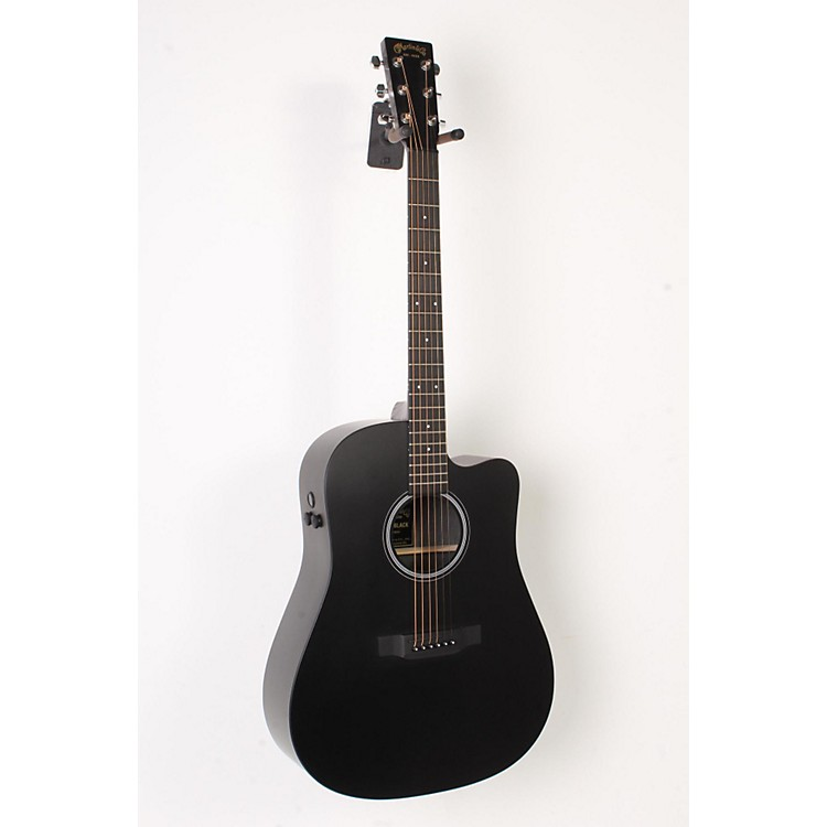 Martin Performing Artist Series 2016 DCPA5 Black Dreadnought Acoustic-Electric Guitar Black 888365855967