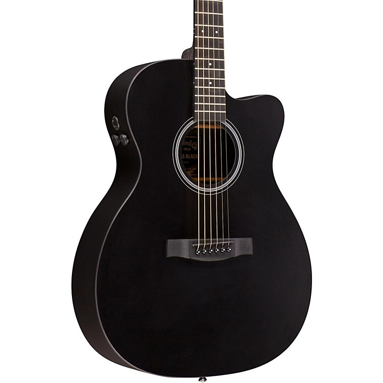 MartinPerforming Artist Series 2016 OMCPA5 Black Orchestra Model Acoustic-Electric GuitarBlack