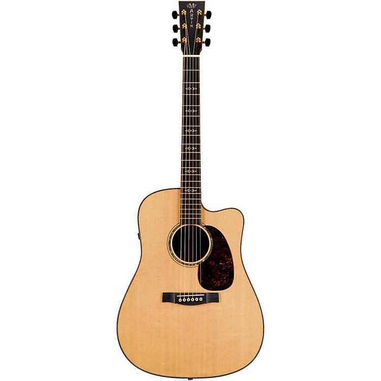 Martin Performing Artist Series DCPA1 Plus  Cutaway Dreadnought Acoustic-Electric Guitar Natural