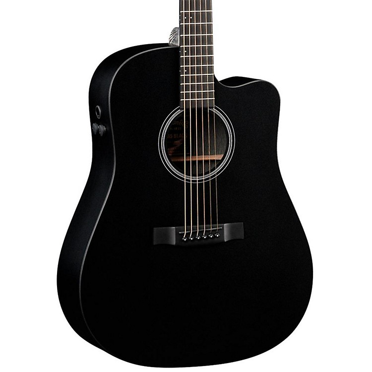 Martin Performing Artist Series DCPA5 Cutaway Dreadnought Acoustic Guitar Black