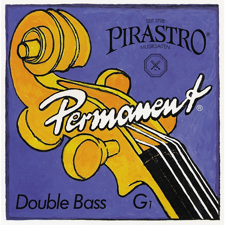 Pirastro Permanent Series Double Bass Solo E String 3/4 Size Solo