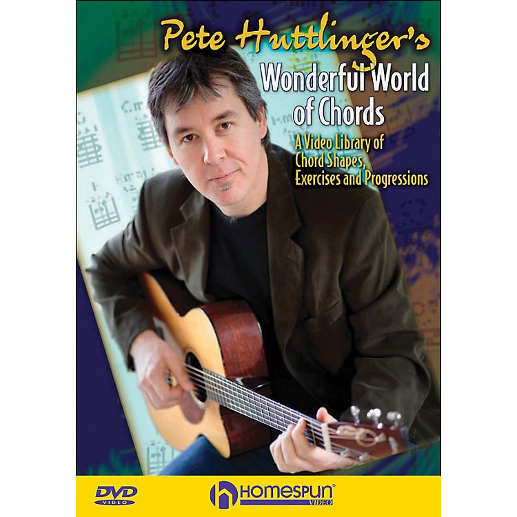 Homespun Pete Hettinger's Wonderful World Of Chords (DVD)