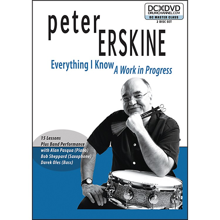 The Drum Channel Peter Erskine - Everything I Know: A Work In Progress (2-DVDa)