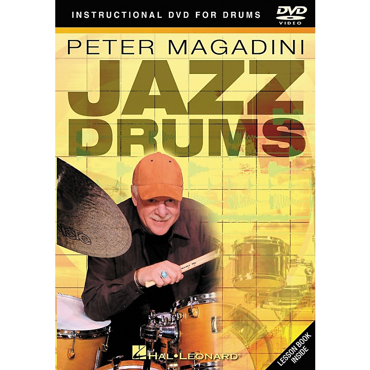 Hal LeonardPeter Magadini - Jazz Drums (DVD)