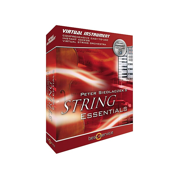 Best Service Peter Siedlaczek's String Essentials Virtual Instrument