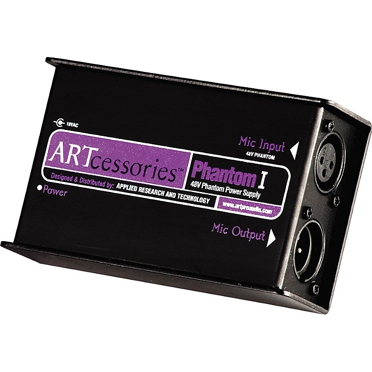 ART Phantom I Studio Mic Power Supply