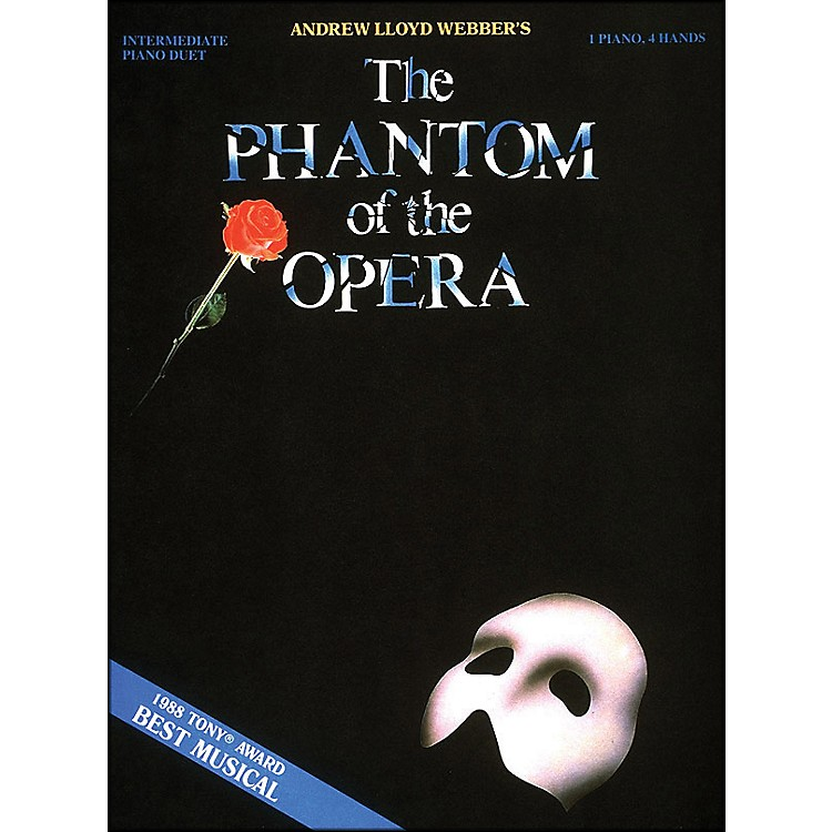 Hal Leonard Phantom Of The Opera 1 Piano 4 Hands Intermediate Piano Duet