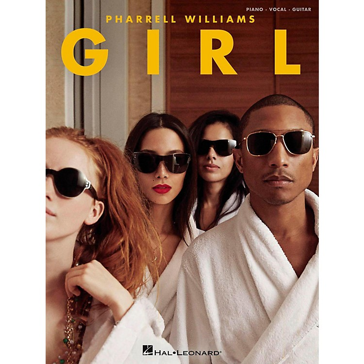 Hal Leonard Pharrell Williams - Girl for Piano/Vocal/Guitar