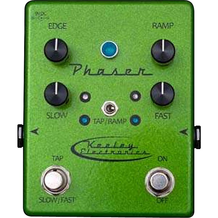 Keeley Phaser Guitar Effects Pedal Sparkle Green