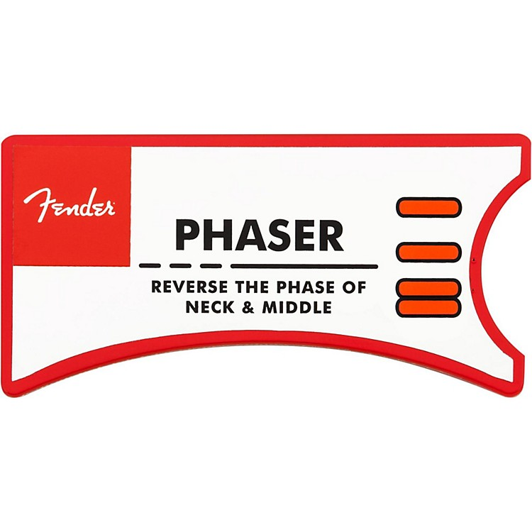Fender Phaser HSS Personality Card