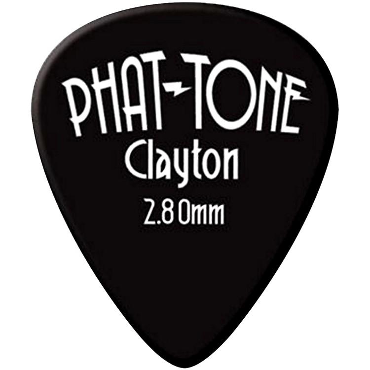 ClaytonPhat-Tone Standard Rubber Picks 3-Picks