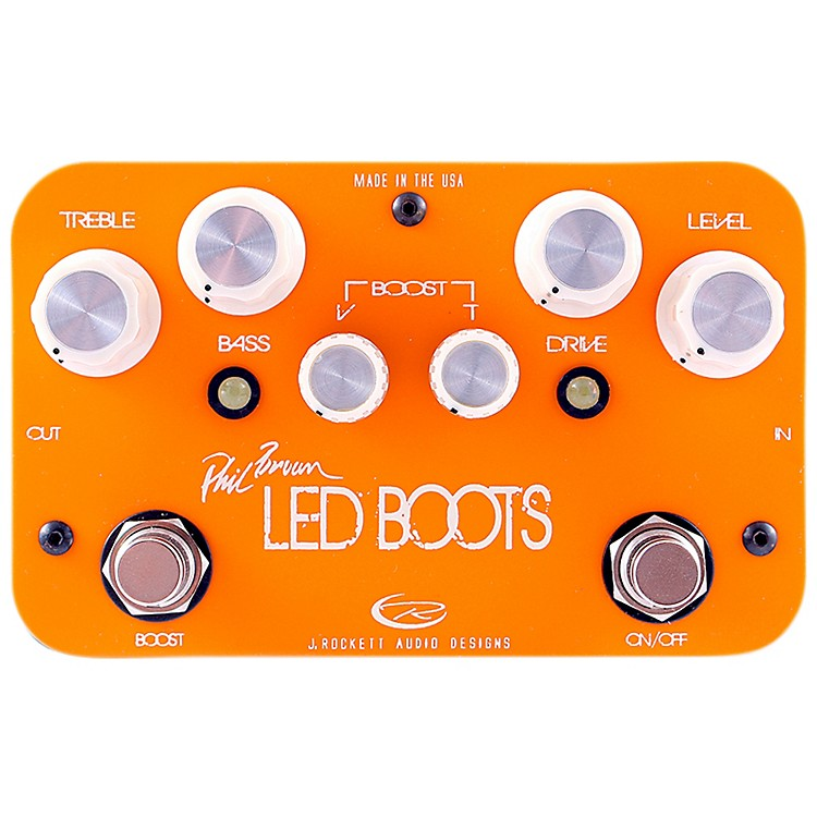 Rockett PedalsPhil Brown Led Boots Signature OD/Boost Guitar Effects Pedal