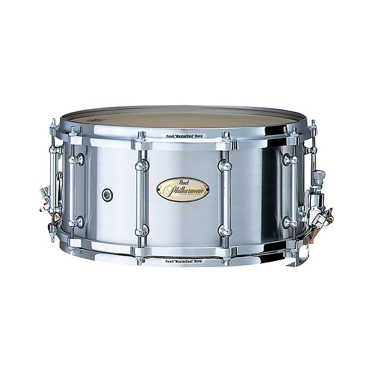 PearlPhilharmonic Cast Aluminum Concert Snare Drum14 x 6.5 in.
