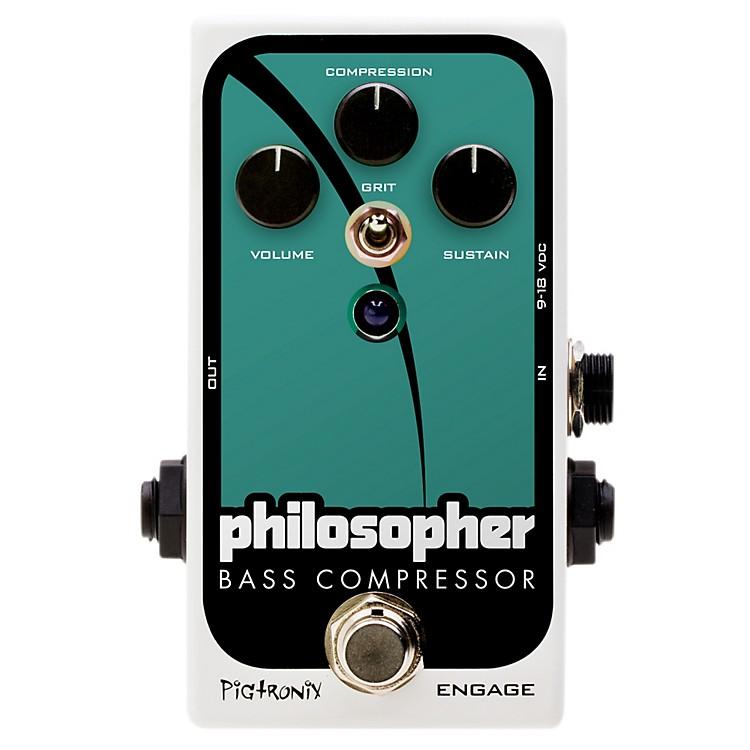 PigtronixPhilosopher Bass Compressor Effects Pedal