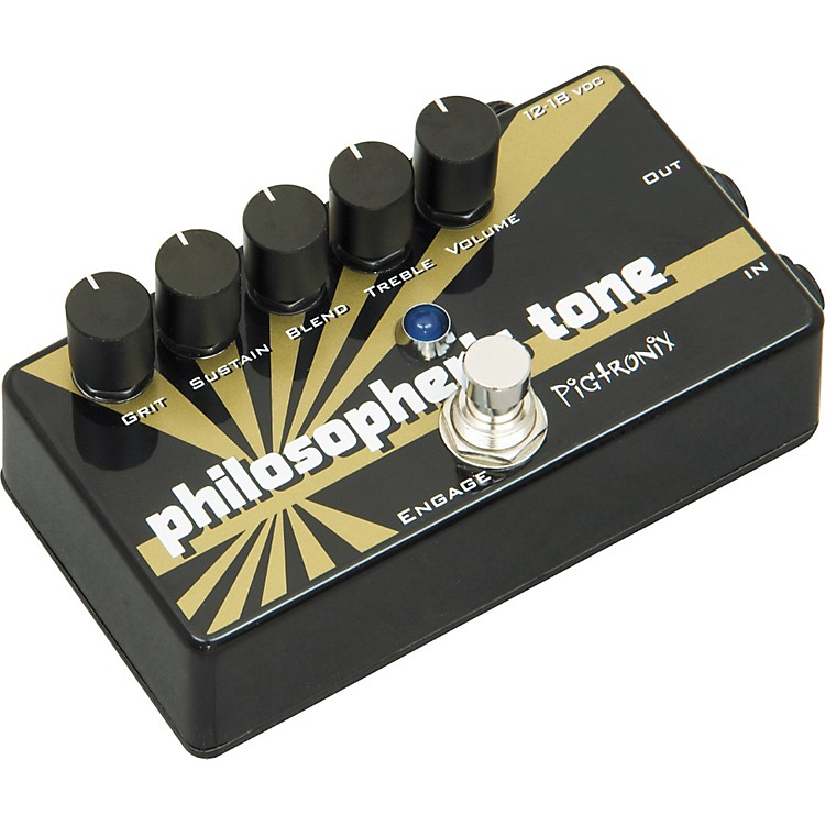 PigtronixPhilosopher's Tone Compressor Guitar Effects Pedal