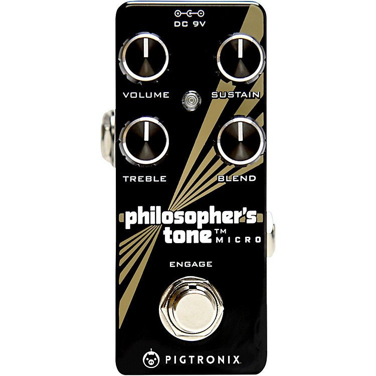 PigtronixPhilosopher's Tone Micro Compressor Effects Pedal