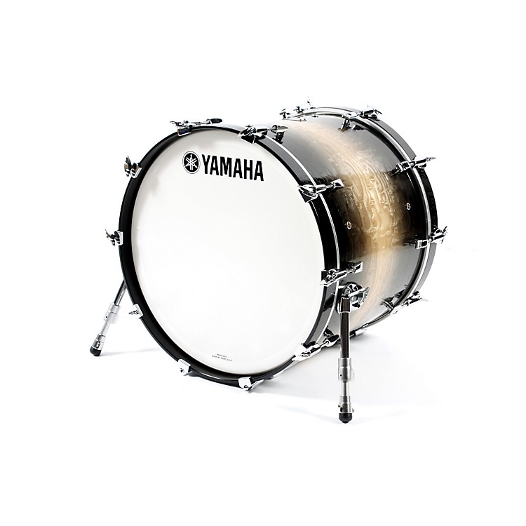 Yamaha Phoenix Bass Drum without Tom Mount 22 In X 18 In Textured Black Sunburst