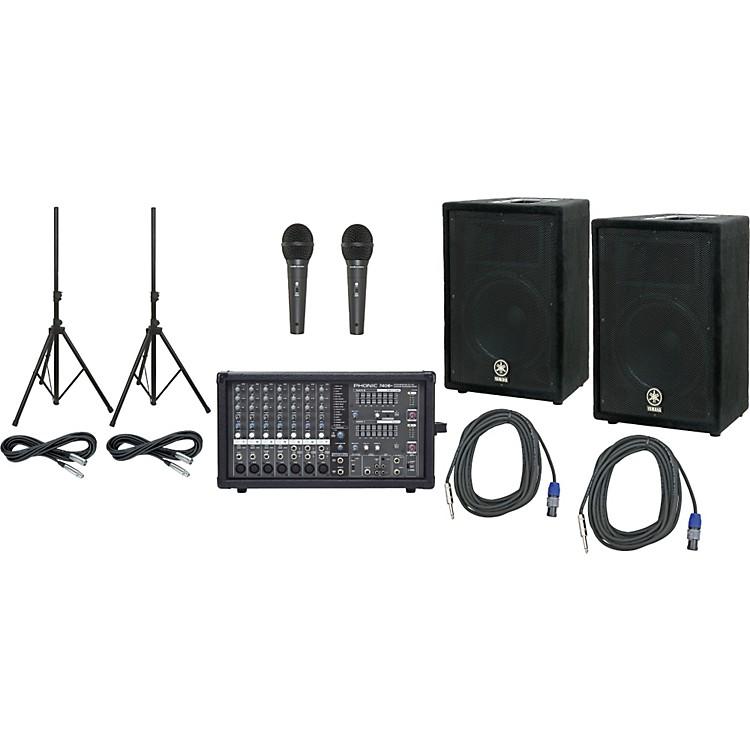 YamahaPhonic 740 / Yamaha A12 PA Package
