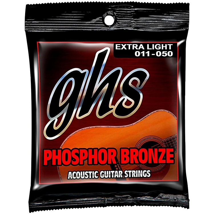 GHSPhosphor Bronze Acoustic Guitar Strings - Extra Light